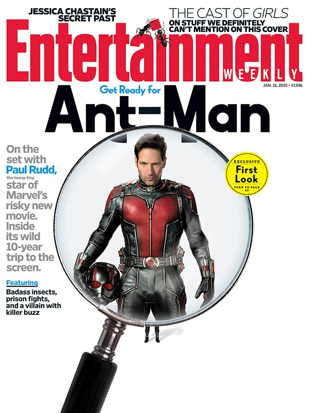 'Ant-Man' Entertainment Weekly Cover