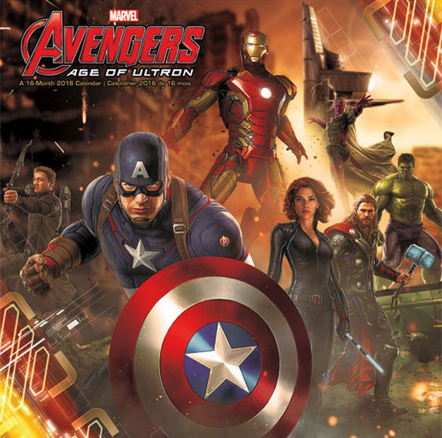 'Avengers: Age of Ultron' Calendar Cover
