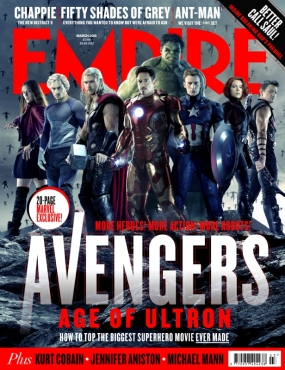 'Avengers: Age of Ultron' Empire Cover