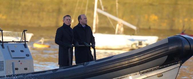 Daniel Craig & Rory Kinnear in 'Spectre'