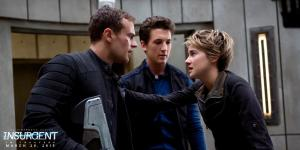 Theo James, Miles Tellar & Shailene Woodley in 'Insurgent'