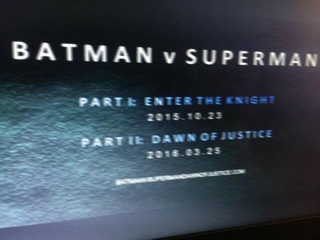 'Batman V Superman' Image