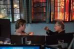 Chris Hemsworth & Michael Mann on set 'Blackhat'