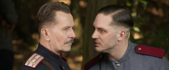 Gary Oldman & Tom Hardy in 'Child 44'