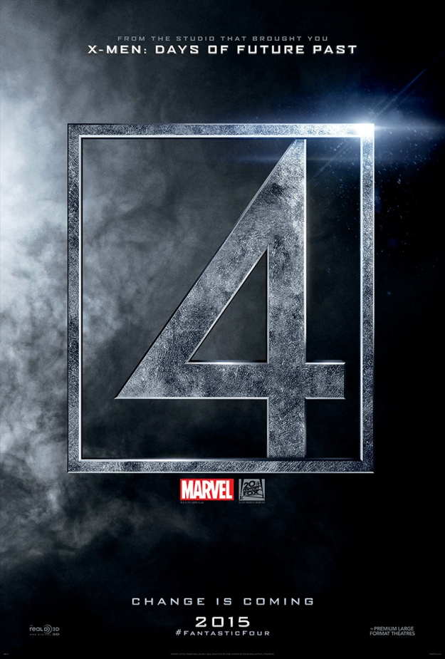 'Fantastic Four' Teaser Poster