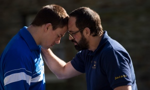 Channing Tatum & Mark Ruffalo in 'Foxcatcher'