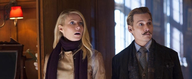 Gwyneth Paltrow & Johnny Depp in 'Mortdecai'