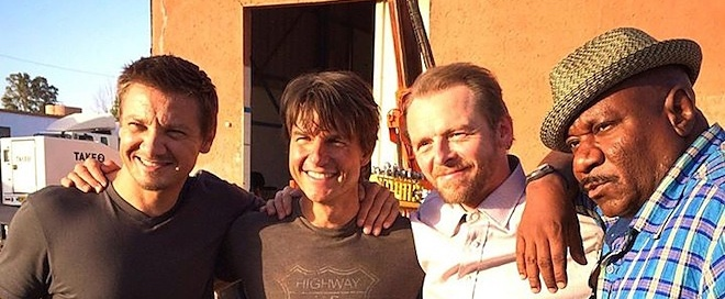 On set 'Mission: Impossible 5'