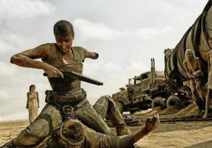 Charlize Theron & Tom Hardy in 'Mad Max: Fury Road'