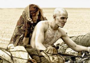 Nicholas Hoult in 'Mad Max: Fury Road'