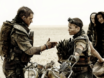 Tom Hardy & Charlize Theron in 'Mad Max: Fury Road'