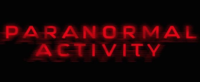 'Paranormal Activity' Logo