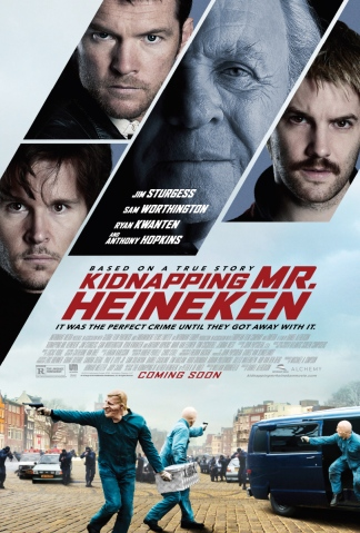'Kidnapping Mr. Heineken' Teaser Poster