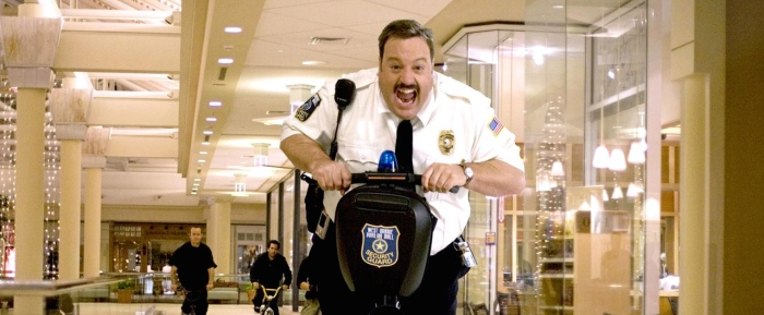 Kevin James in 'Paul Blart: Mall Cop 2'