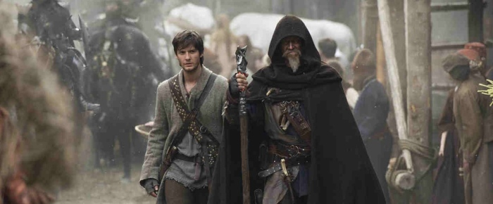 Ben Barnes & Jeff Bridges in 'Seventh Son'