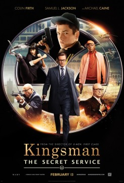 'Kingsman: The Secret Service' Poster