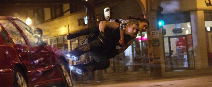 Channing Tatum & Mila Kunis in 'Jupiter Ascending