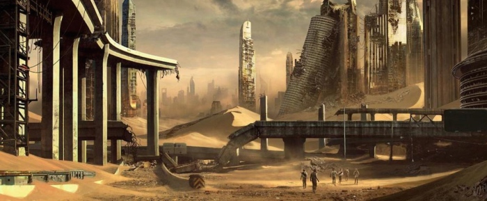 'The Scorch Trials' Concept Art