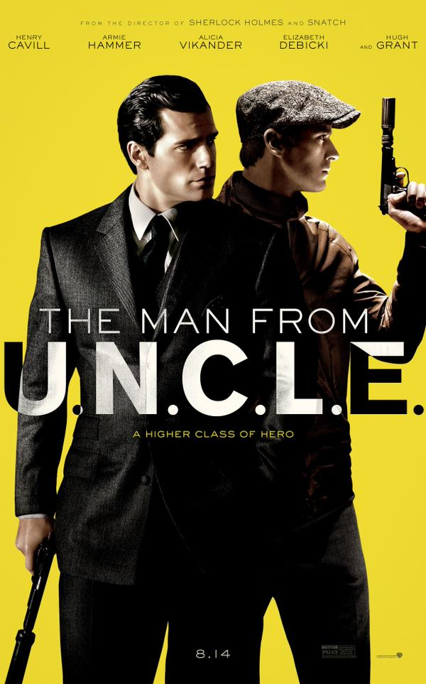'The Man from U.N.C.L.E.' Poster