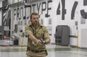Hugh Jackman in 'Chappie'