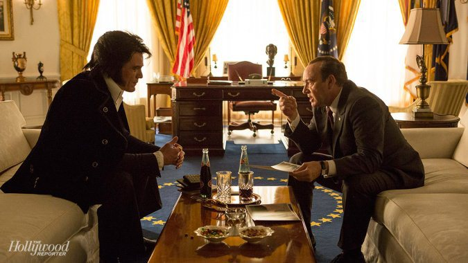 Michael Shannon & Kevin Spacey in 'Elvis & Presley'