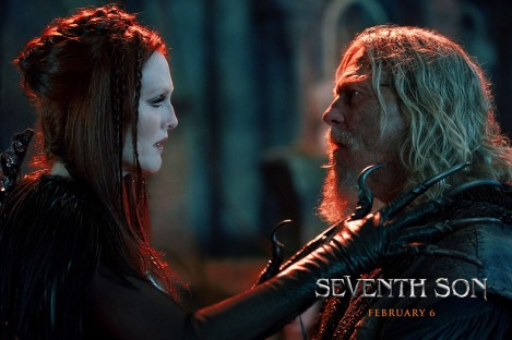 Julianne Moore & Jeff Bridgers in 'Seventh Son'