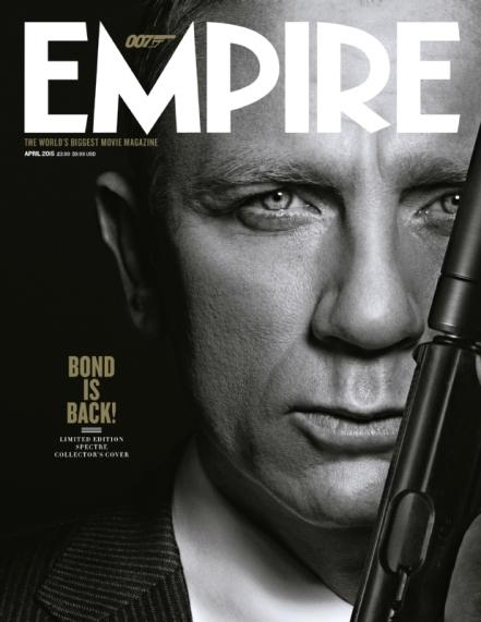 'Spectre' Empire Magazine Cover