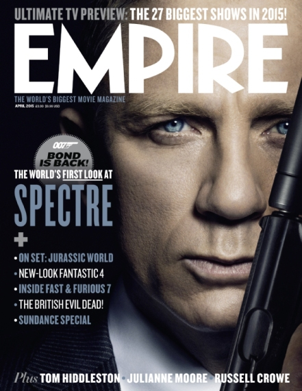 'Spectre' Empire Magazine Cover