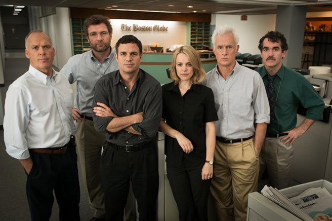 Cast of 'Spotlight'