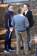Danny Boyle, Michael Fassbender & Seth Rogen