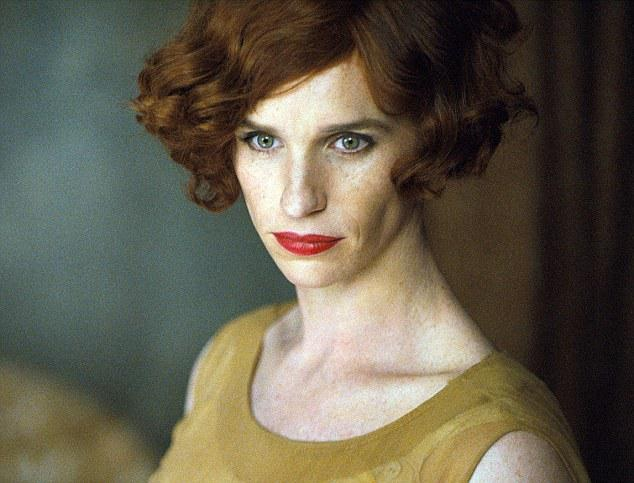 Eddie Redmayne in 'The Danish Girl'