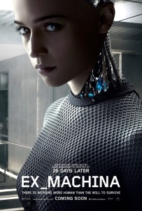 'Ex Machina' Teaser Poster