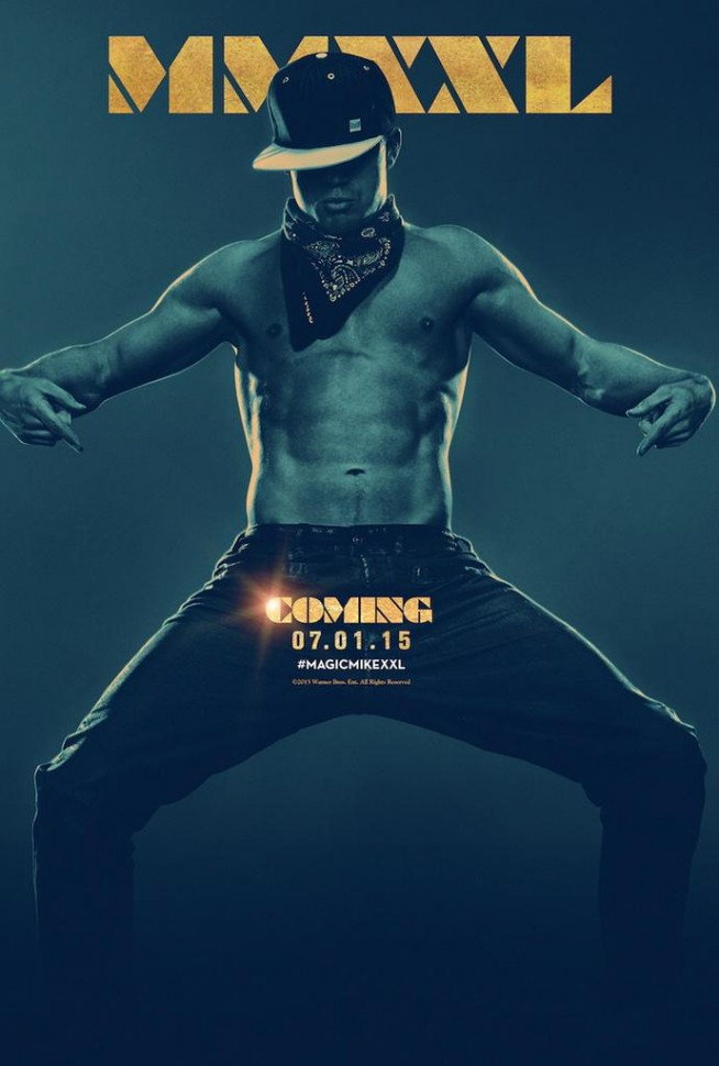'Magic Mike XXL' Teaser Poster