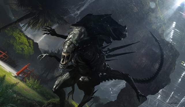 'Alien 5' Concept Art