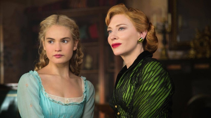 Lily James & Cate Blanchett in 'Cinderella'