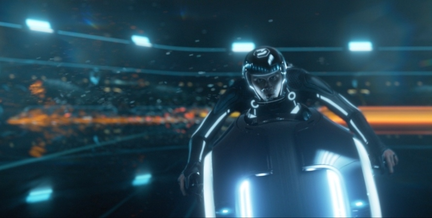Garrett Hedlund in 'Tron: Legacy'