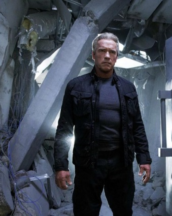 Arnie in 'Terminator: Genisys'