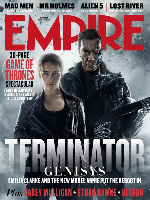 'Terminator: Genisys' Empire Magazine Cover