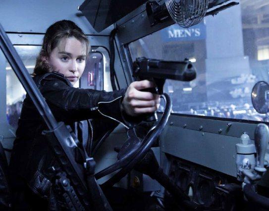 Emilia Clarke in 'Terminator: Genisys'