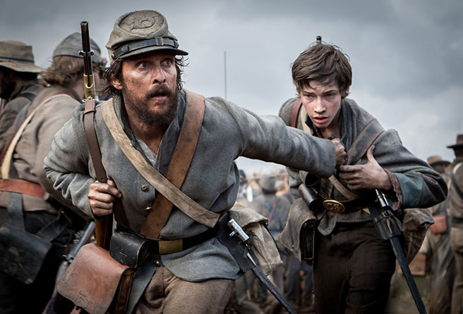 Matthew McConaughey in 'The Free State of Jones'