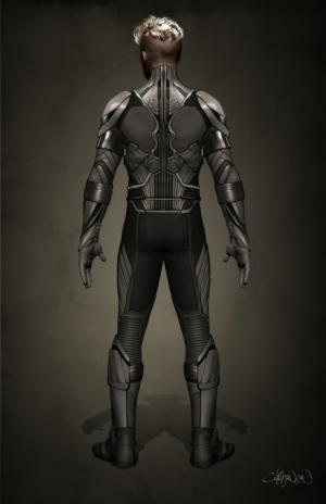 Archangel Concept Art for 'X-Men: Apocalypse'