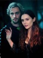 Aaron Taylor-Johnson & Elizabeth Olsen in 'Avengers: Age of Ultron'