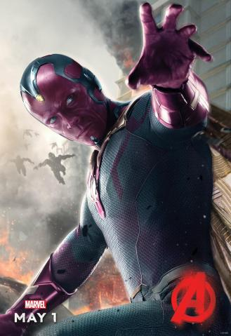 'Avengers: Age of Ultron' Vision Poster