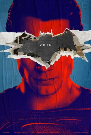 'Batman V Superman: Dawn of Justice' Teaser Poster