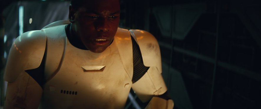 John Boyega in 'Star Wars: The Force Awakens'