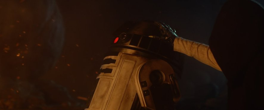 Mark Hamill in 'Star Wars: The Force Awakens'