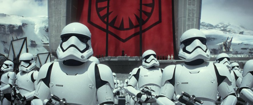 Stormtroopers from 'Star Wars: The Force Awakens'