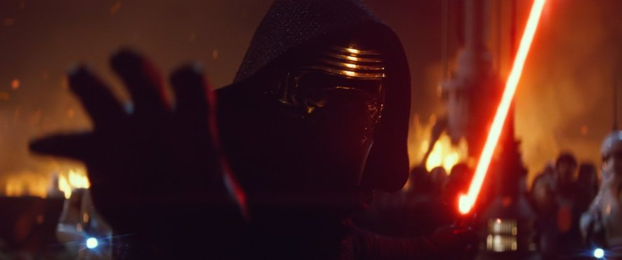 Kylo Ren from 'Star Wars: The Force Awakens'
