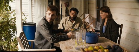 Chris Pine, Chiwetel Ejiofor & Margot Robbie in 'Z for Zachariah'