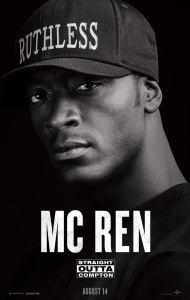 'Straight Outta Compton' Character Poster